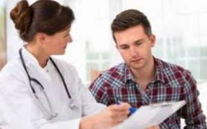 обследование, врач, мужчина