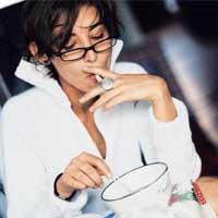 курение, зависимость
