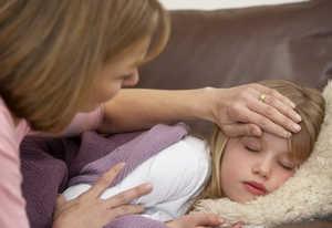 больной ребенок, головная боль