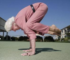 упражнение для пожилых, старость