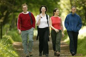 ходьба, прогулка, туризм