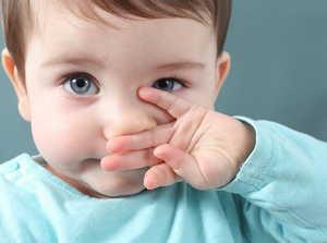 насморк у ребенка